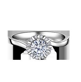 金伯利钻石戒指幸福时刻