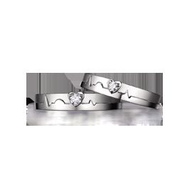金伯利钻石戒指真爱律动