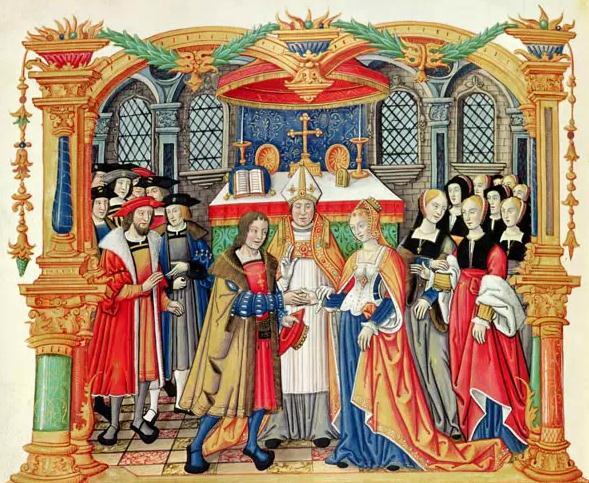 奥地利国王与法国公主