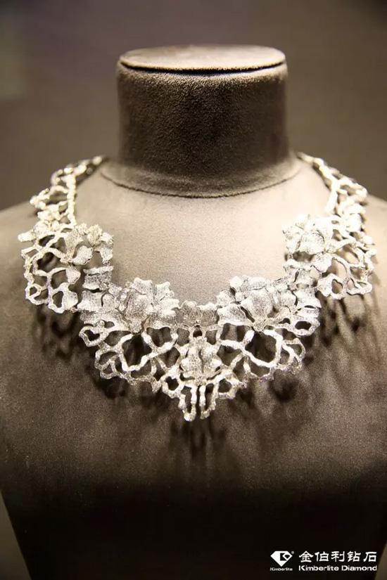 金伯利钻石首饰《国色天香》