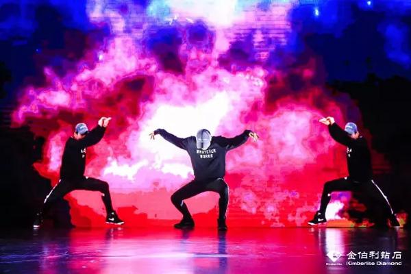 舞蹈演员精彩表演