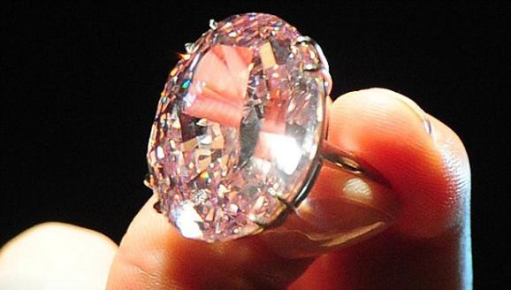 粉红之星钻石
