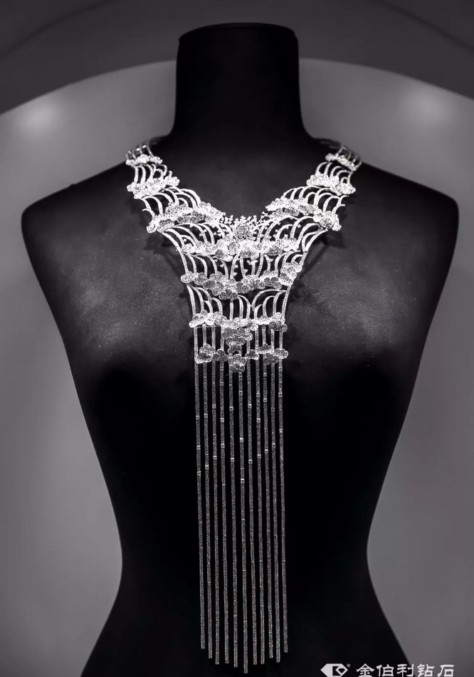 金伯利钻石高级珠宝《溪山飞流》