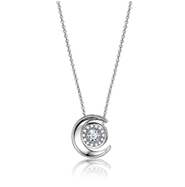 金伯利钻石项链月亮女神