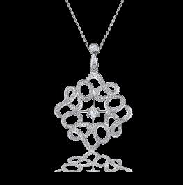 爱的承诺钻石项链