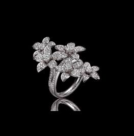 迎春花系列钻石戒指