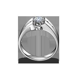 男士钻石戒指《马到功成》