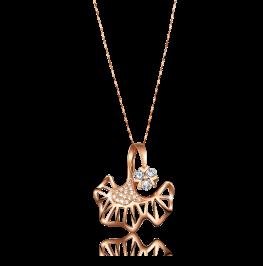 花之舞系列钻石项链