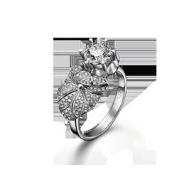 荷塘月色系列钻石戒指