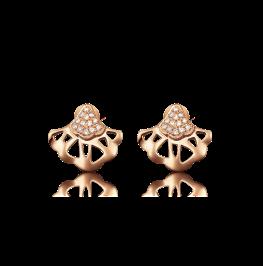 钻石耳环《花之舞》