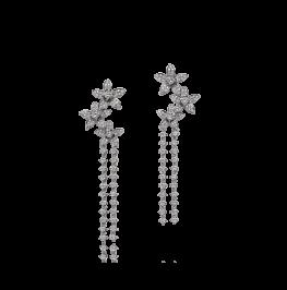 钻石耳环《迎春花》