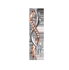 《腾飞》系列钻石项链