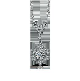 钻石项链《雪绒花》