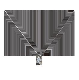 《爱意》钻石项链爱之依偎