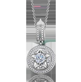 钻石项链幸福之星