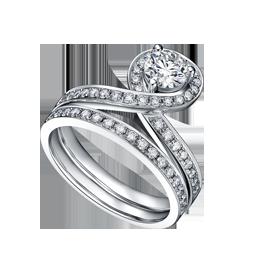 金伯利钻石婚戒《纯·臻》
