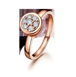 金伯利钻石圣诞戒指