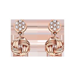 结系列纪念日珠宝套系之耳饰