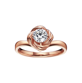 结系列纪念日珠宝套系之戒指