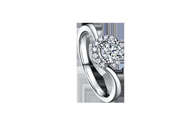 金伯利钻石婚礼戒指《圆舞曲》