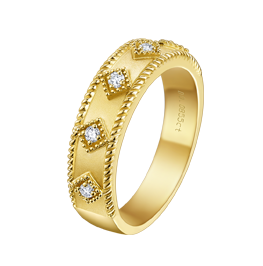 浪漫印记戒指
