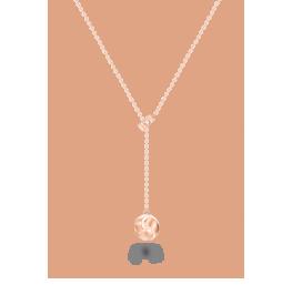 结系列玩趣珠宝项链