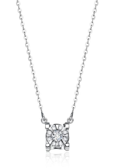 节日礼套系钻石项链