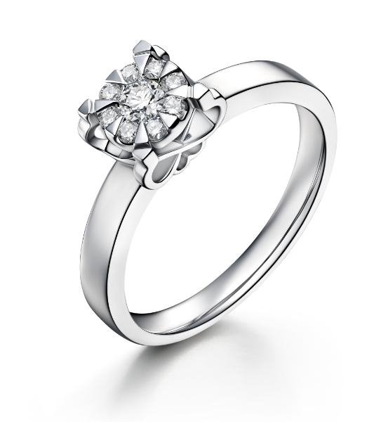 节日礼套系钻石戒指
