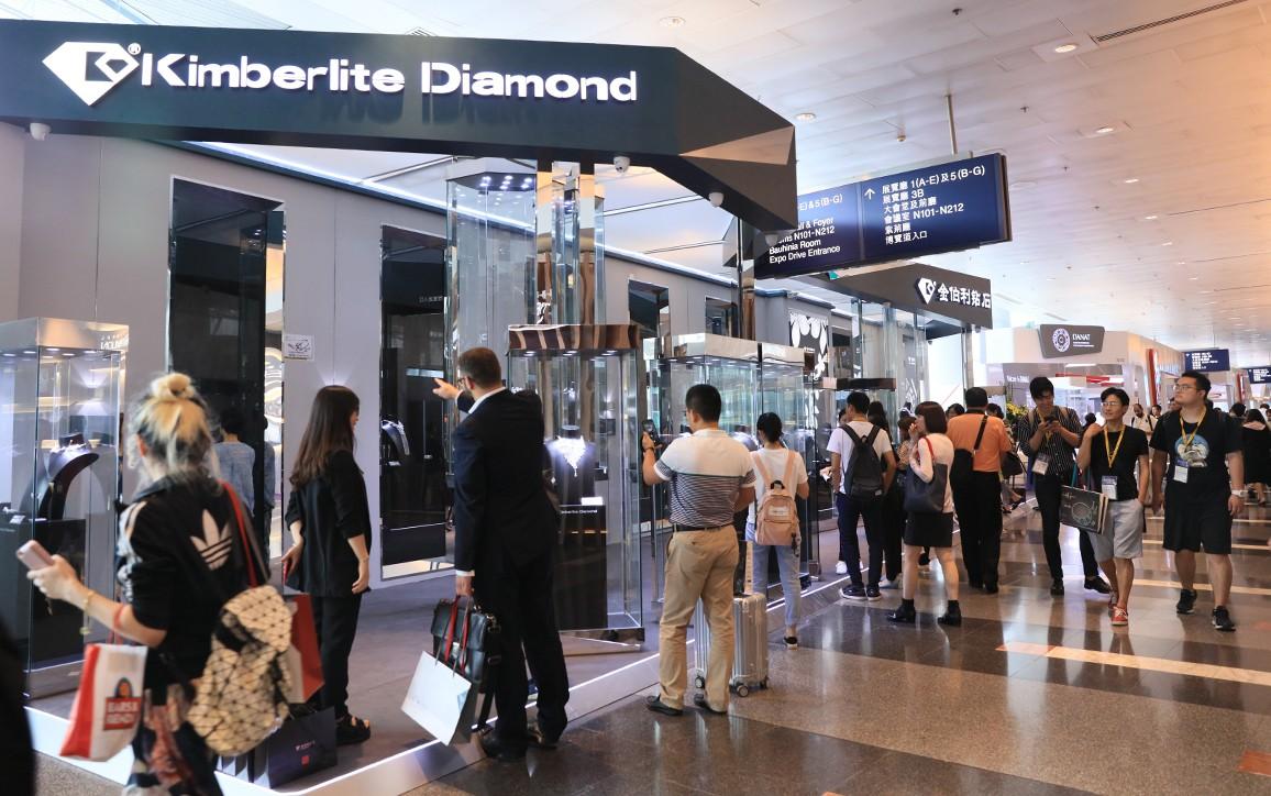 金伯利钻石展厅人气爆满
