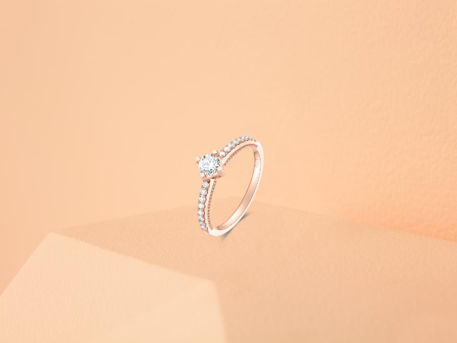 金伯利钻石Gentlewoman系列戒指