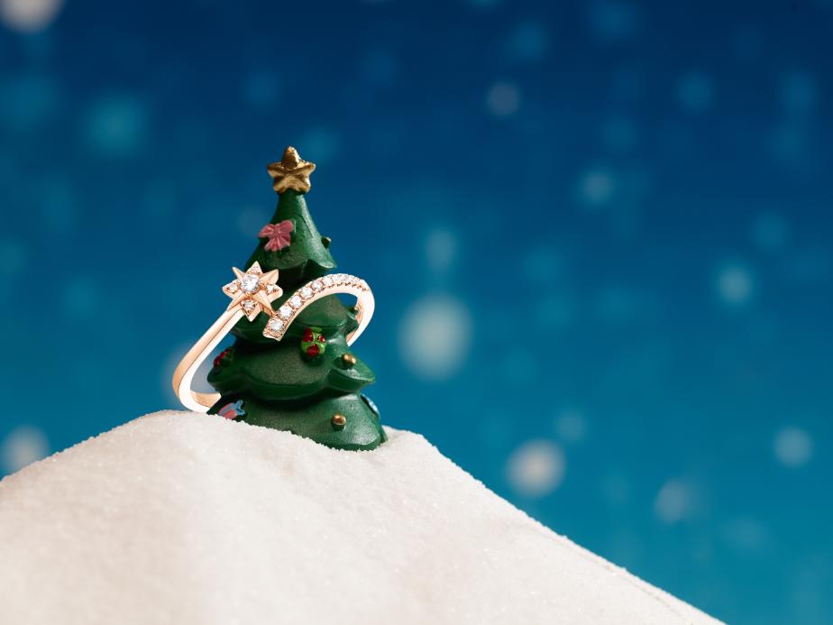 圣诞新品戒指