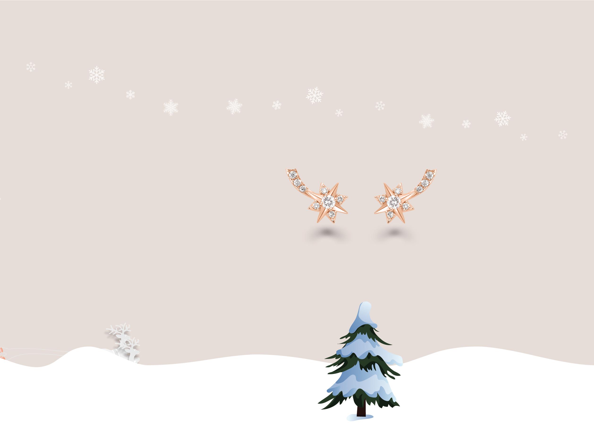 圣诞新品耳饰