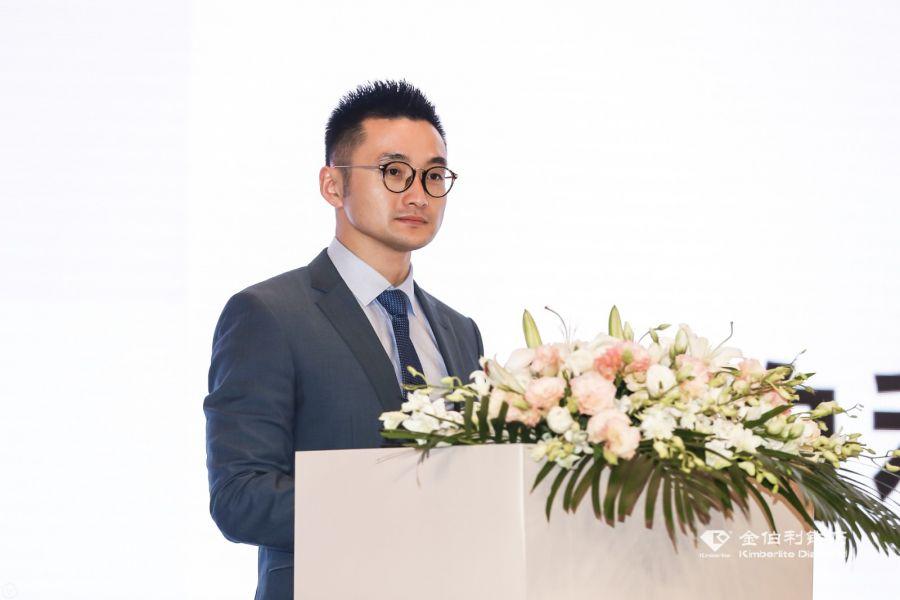 金伯利钻石集团副总裁韦庆霖先生发言